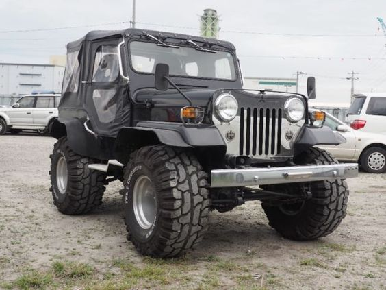 Image result for mitsubishi willys jeep 1984