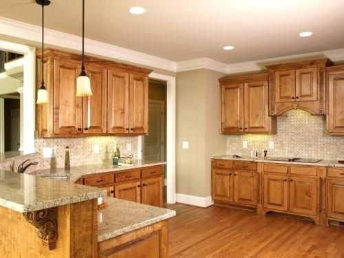 Kitchen Paint Colors With Light Oak Cabinets Full Size Of Kitchen Wall Colors With Light Brown Cabine Tuscan Kitchen Design Tuscan Kitchen Oak Kitchen Cabinets