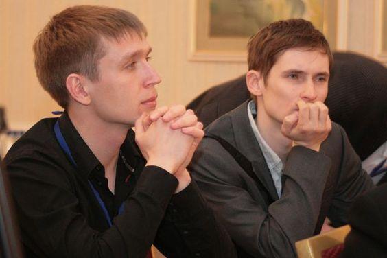 Два татарстанских шахматных Артема: Ильин (слева) и Тимофеев http://ruchess.ru/