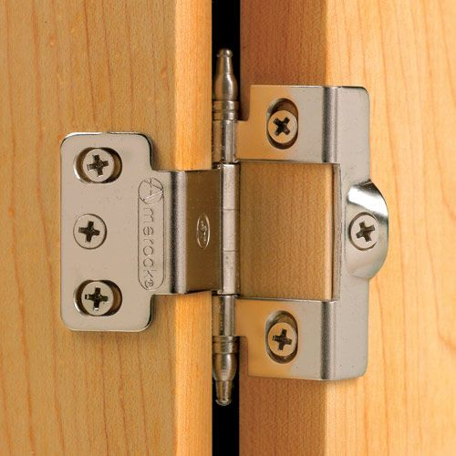 Urn-Tip Full Back-to-Back Wrap-Around Inset Hinges ...