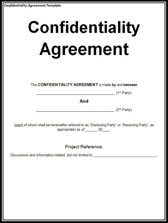 allformtemplates (allformtemplates) on Pinterest - patient confidentiality agreements