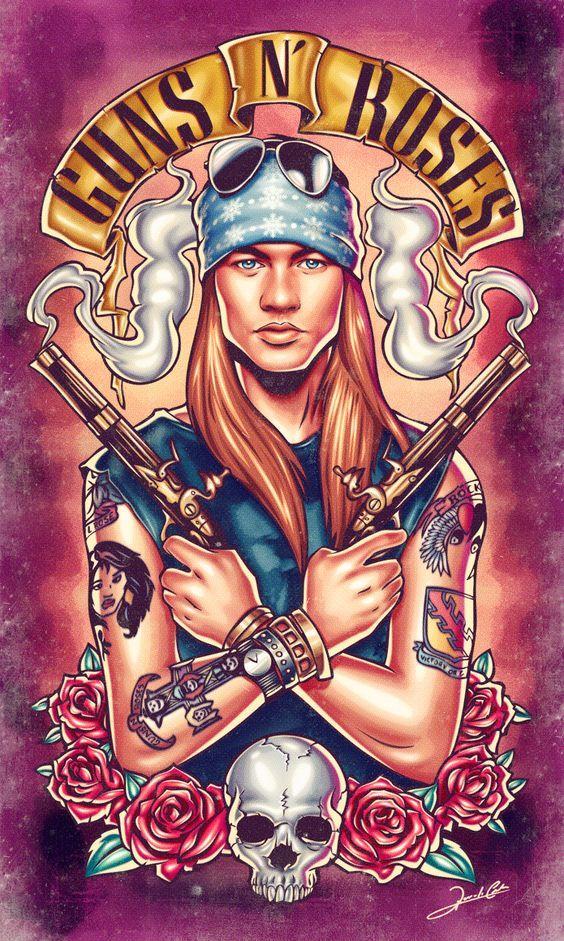 Welcome To The Guns N Roses Com Imagens Posteres De Banda