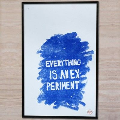 Everything is an Experiment - Design It Together poster