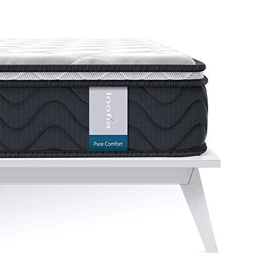 Inofia 8 Inch Multi Layer Hybrid Mattress Breathable Cooling