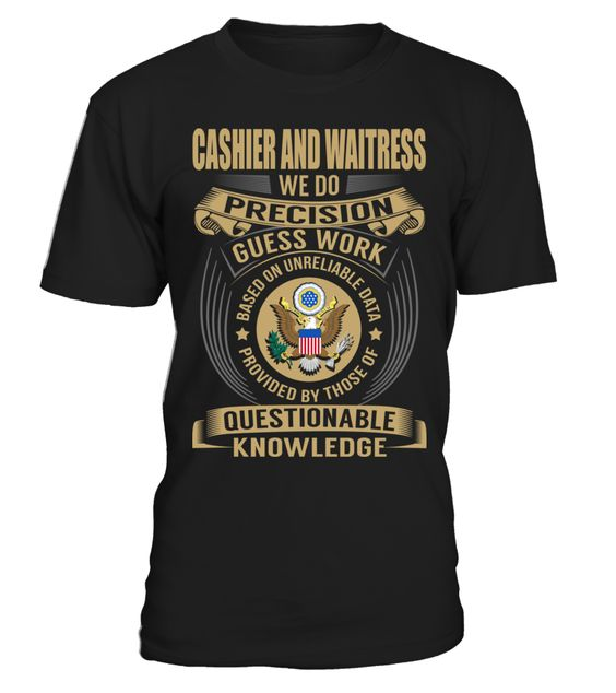 Cashier and Waitress