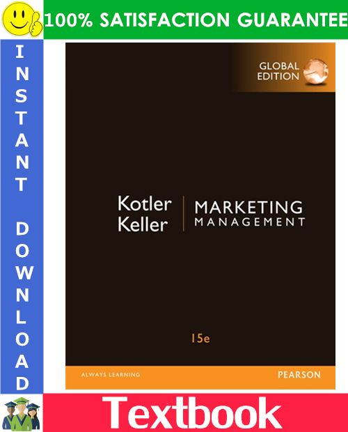 Marketing Management 15th Global Edition Etextbook By Kotler Keller Marketing Manager Marketing Management