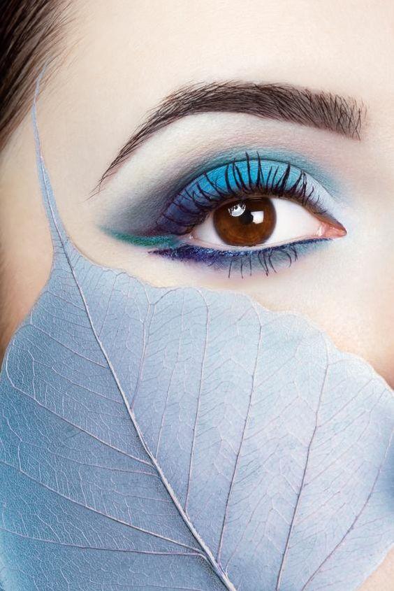 blue liner look
