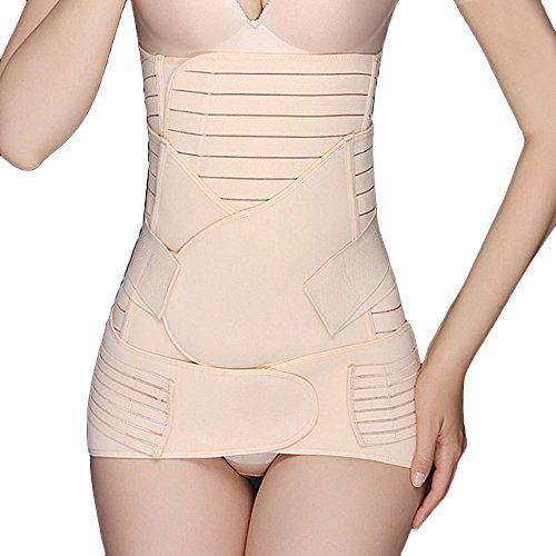 Women 3 in 1 Postpartum Girdle Support Recovery Belly Band Body Shaper Fajas US