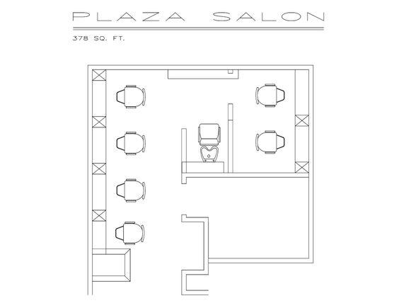 Salon Design, Salons And Floor Plans On Pinterest