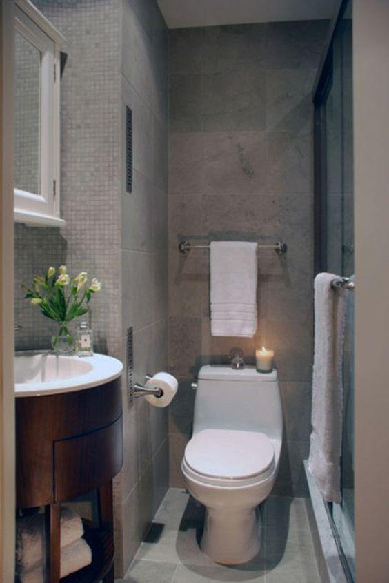 Dise o de interiores arquitectura 30 ideas para cuartos - Diseno de cuartos de bano pequenos ...