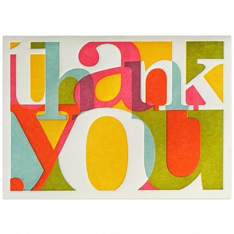 Elum Calypso Thank You Card Box