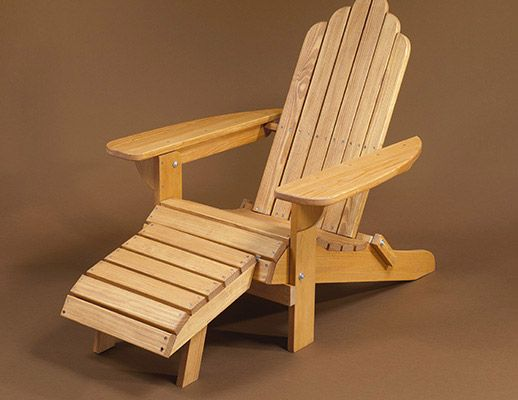 Adirondack chairs woodworking and woodworking projects on pinterest Adirondack bed frame