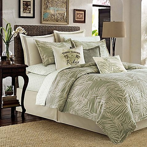 Tommy Bahama Palms Away Comforter Set Comforter Sets Home