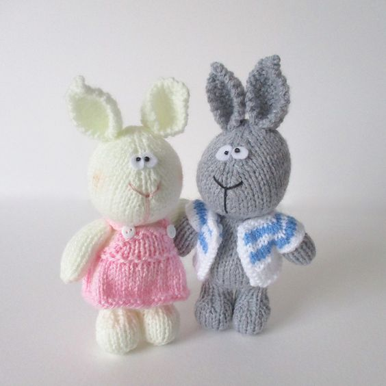 Ravelry: Harry and Hatty Hare pattern by Amanda Berry