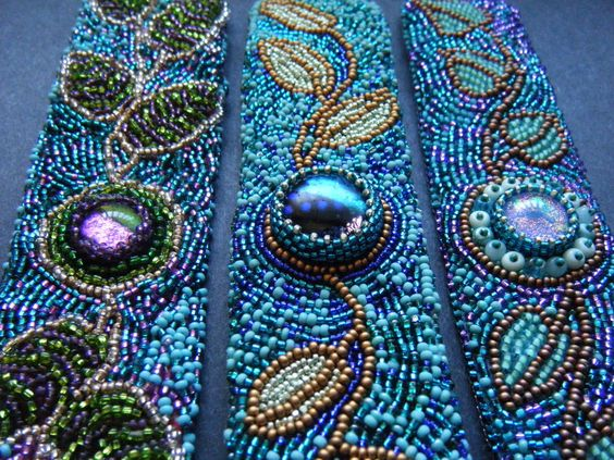 Free Bead Embroidery Patterns | ... to use up . Been written about bead embroidery. children friends