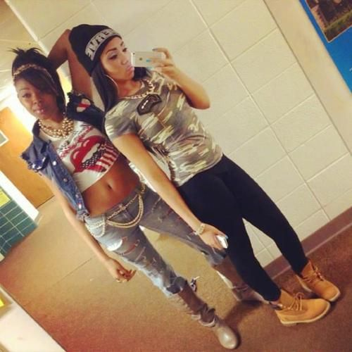 Light Skin Black Girls With Swag  Timbs On Tumblr   -5179