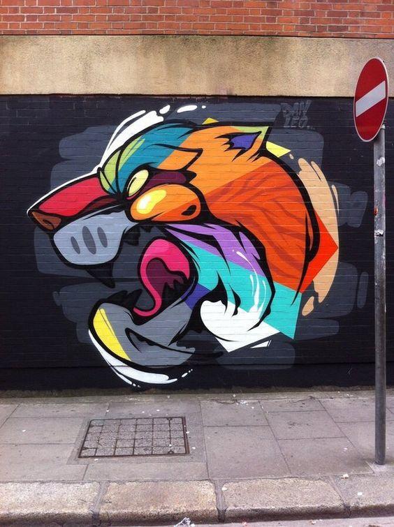 Danleo, Ireland #streetart #mural #art