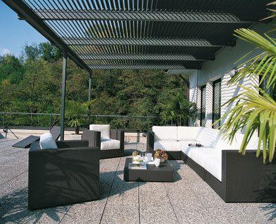 Patio Pergolas   Proteja su patio con pérgolas de vinilo :: VisitaCasas.com