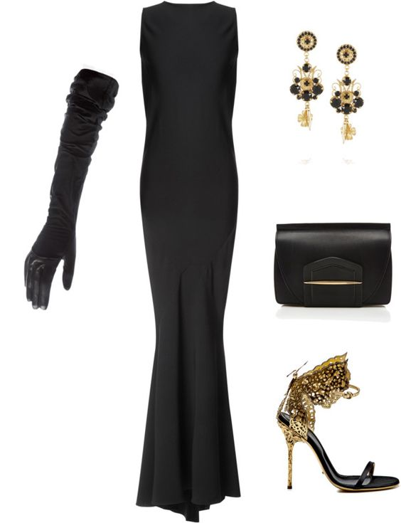 A Black Tie Affair - Shop this red carpet look on Stylabl.com