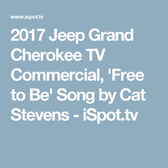 2017 jeep grand cherokee tv commercial if you want to sing out by. Cars Review. Best American Auto & Cars Review