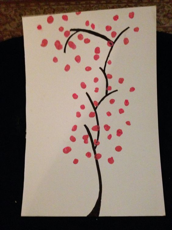 Japanese orchid painting