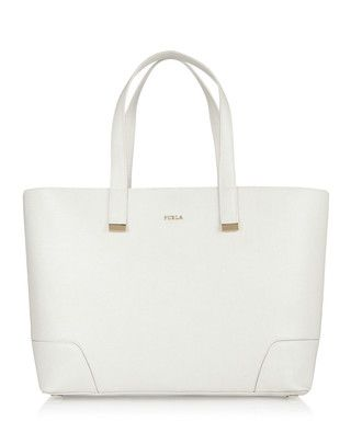 Stacy Large white leather tote Sale - Furla Sale | Accessories ...