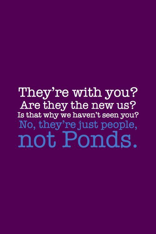 not Ponds