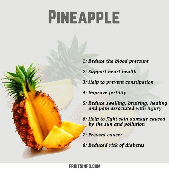 Pineapple Infographic Pineapple Health Benefits Pineapple Benefits Fruit Nutrition Facts