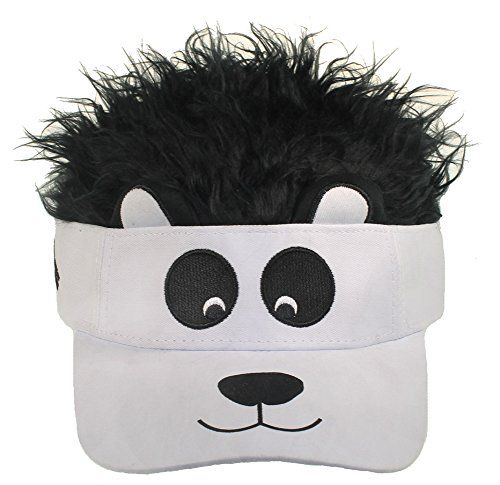 Concept One Accessories Big Boys Flair Hair Visor Lion Face