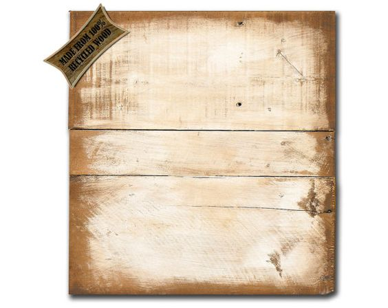 Blank Wooden Sign ~ Blank distressed pallet wood sign plaque ready to paint