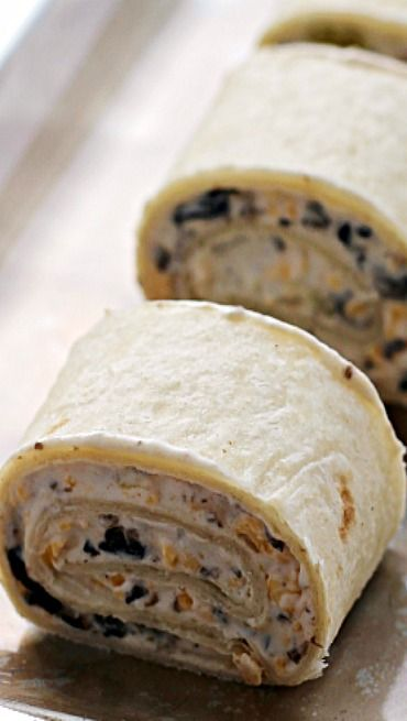 Tortilla pinwheels, Pinwheels and Tortillas on Pinterest