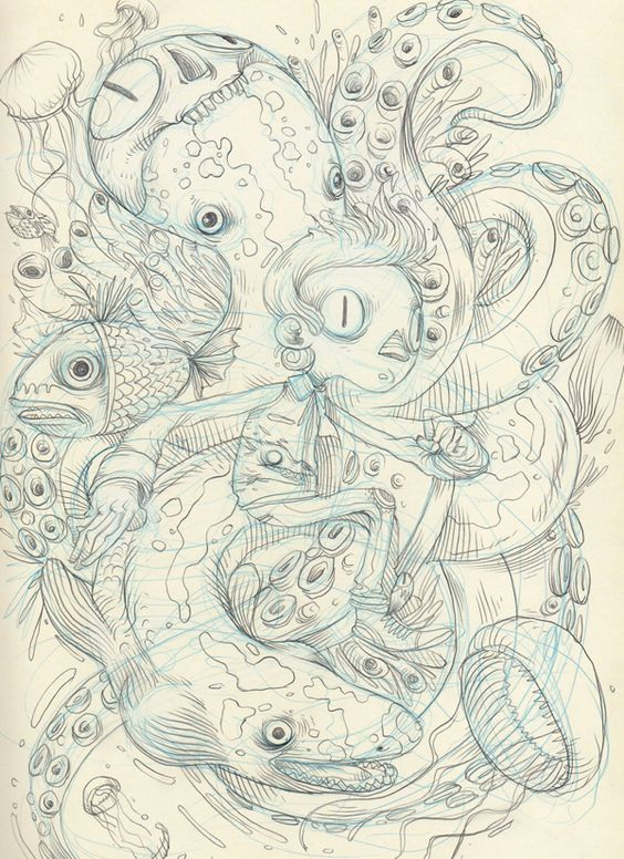 Raul Urias – Sketchbook 2012
