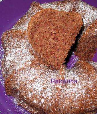Bolo de Claras, Coco e Chocolate
