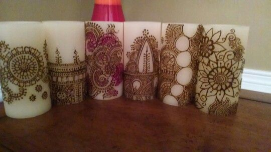 Only henna flameless candles
