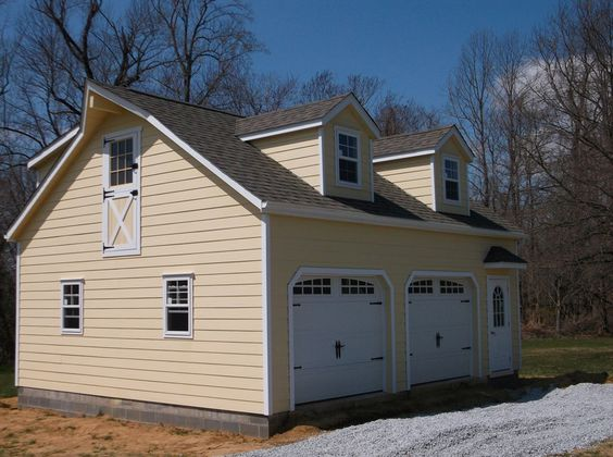 Absolutely love this 24x28 2 story garage the dormers for 24x28 garage plans
