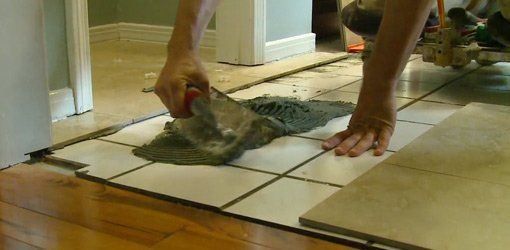 How To Lay Tile Over A Floor Today S Homeowner