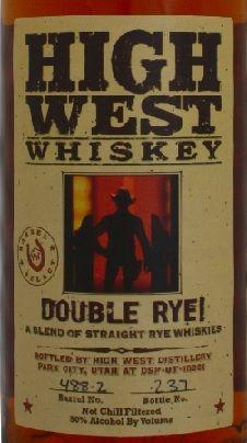 High West - Double Rye Whisky (750ml) (750ml)