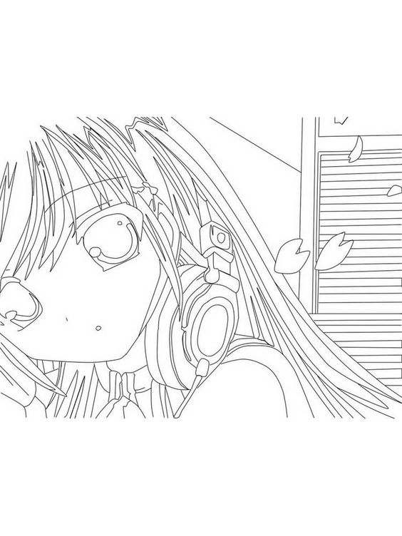 Anime Bff Coloring Page Coloring Pages Cartoon Coloring Pages Color
