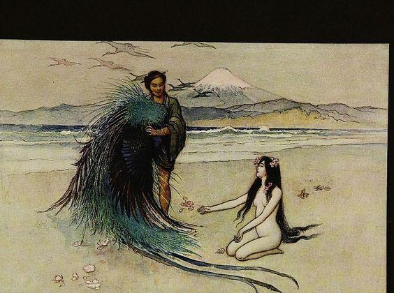 """Valkyrie on Twitter: """"The Robe of Feathers. Japanese Folktale #FolkloreThursday  https://t.co/ymn38vBhks https://t.co/K1mBtZ4UkV"""""""
