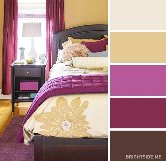 20 great colour combos for decorating your room: