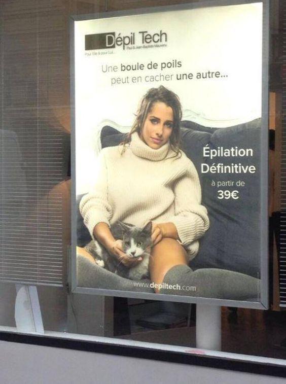 Humour de com : 24 publicités françaises très douteuses: