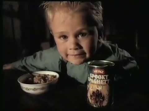 2020 Halloween Commercials That Have Children In Them Heinz Spooky Spaghetti   1986 Australian Tv Commercial   Halloween