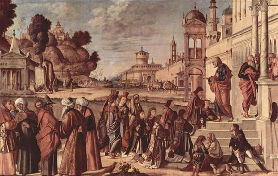 1514 St. Stephen is Consecrated Deacon - Vittore Carpaccio