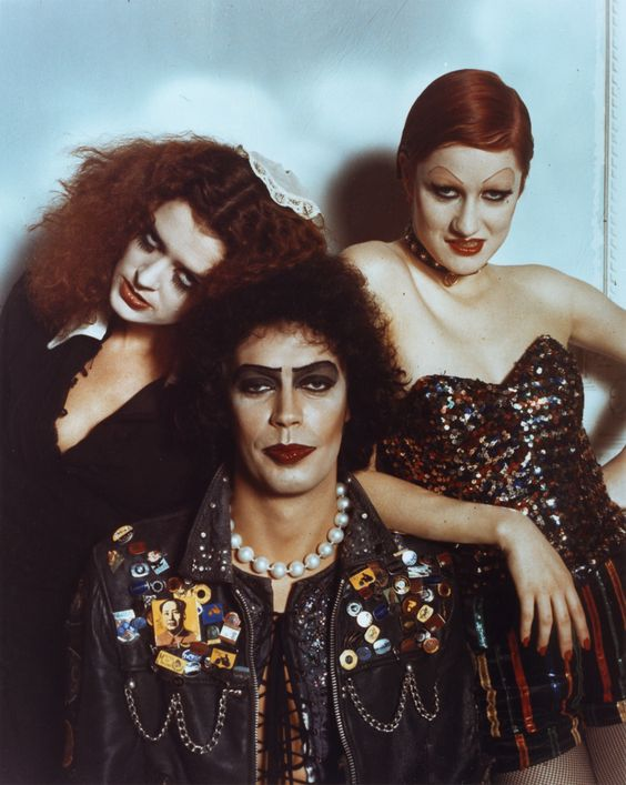 """Rocky Horror Picture Show - """"Crawling, on the planet's face, some insects, called the human race. Lost in time, and lost in space... and meaning."""""""