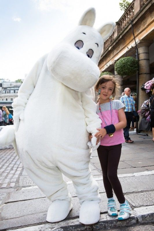 Moomins weekend in Covent Garden
