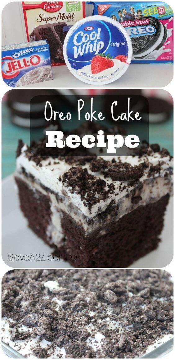 Oreo Poke Cake - iSaveA2Z.com