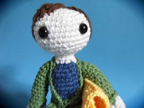 The Hitchhiker's Guide to the Galaxy: Arthur Dent PDF Pattern on Etsy, $5.00