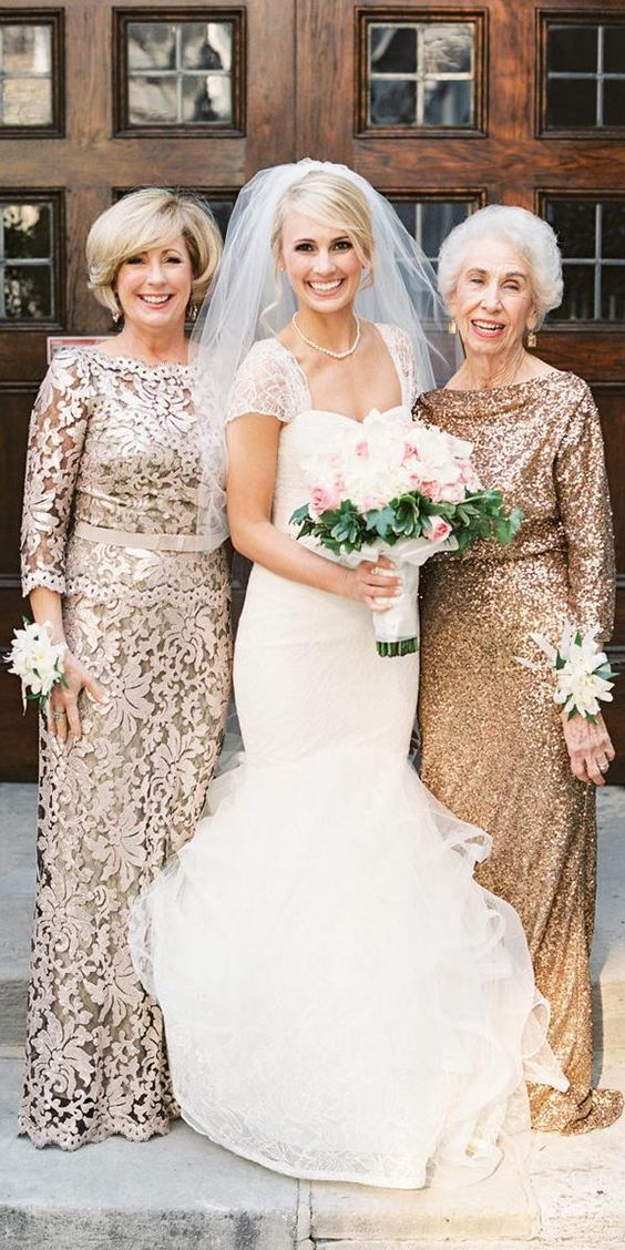 21 Long Mother Of The Bride Dresses   Wedding Dresses Guide