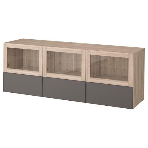 Ikea Besta Tv Unit With Doors And Drawers Tv Bench Ikea Ikea Tv