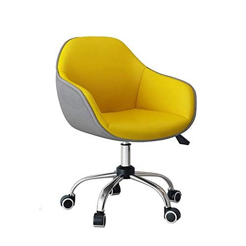Nilinba Sponge Mats Soft Yellow Computer Chair Household